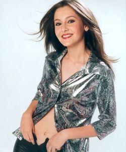 Alina Sorescu pe vremea cand se lansa in muzica in 2000