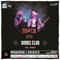 AcDc Club Doors The Rock