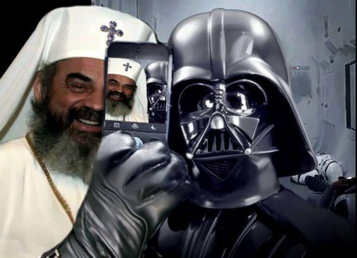 Daniel Selfie Darth Vader