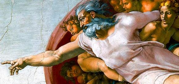Dumnezeu nu are barbă albă şi păr lung