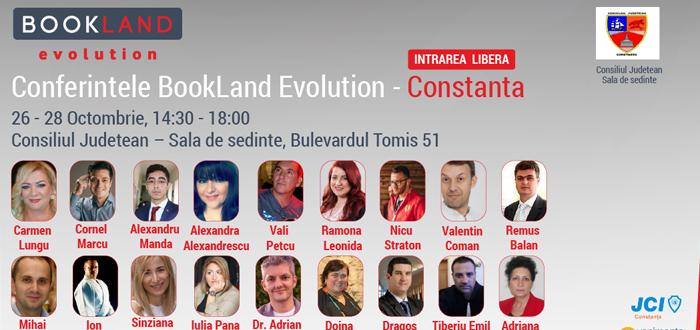 Conferinţele pentru tineri BOOKLAND EVOLUTION ajung la Constanţa! Acces gratuit