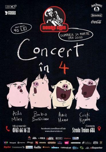 ada milea concert in patru
