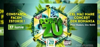 FORZA ZU, pe plaja Modern din Constanţa! Intrare liberă | Evenimente Constanta