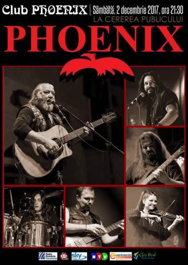 phoenix concert 2 decembrie