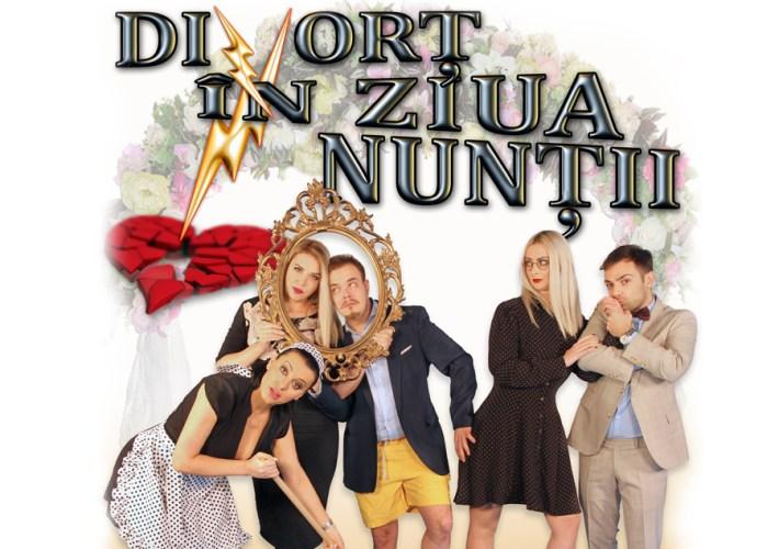 """Teatru """"Divorț în Ziua Nunții"""", la Harlequin Mamaia"""