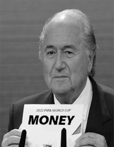 Blatter announces which bid won the 2022 World Cup