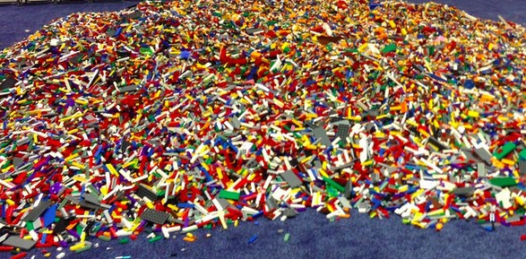 Washed Up Lego Makes It Impossible To Walk Barefoot On The