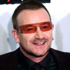 Bono enjoying a quiet moment of smug
