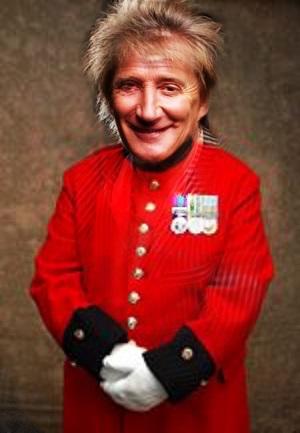 Pensioner Rod invokes the horror of war