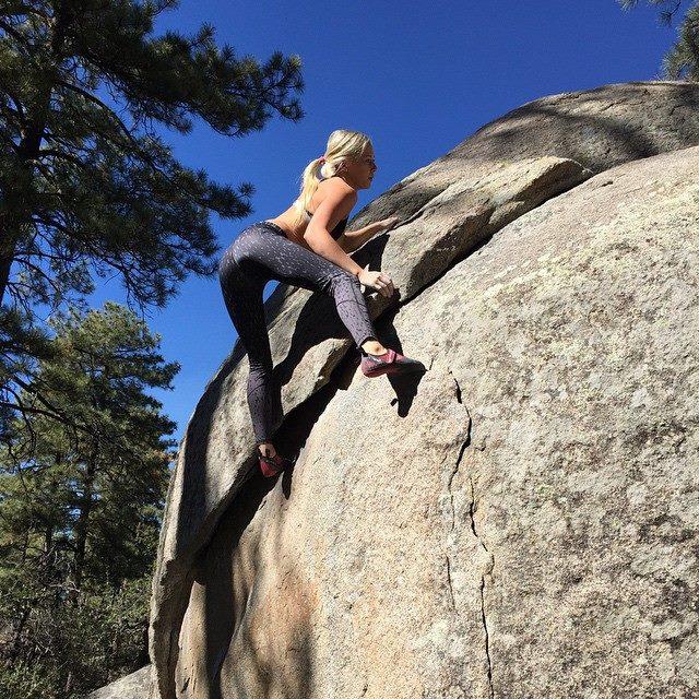 Ladies Rock Climbing Shoes
