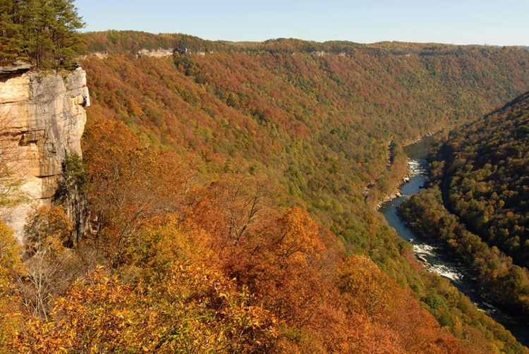 The Endless Wall, New River Gorge