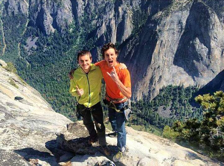 Brad and Mason, sweet victory at last. Photo: Ben Ditto.