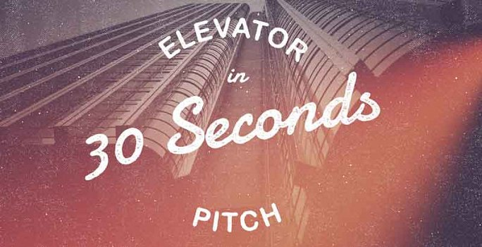 Startup  small business elevator pitch template - elevator pitch template