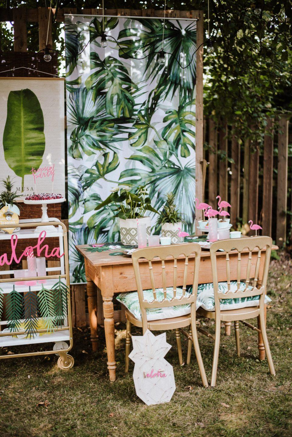 Sommerparty Deko Mottoparty Karibik Hawaii Diy Ideen Stephanies