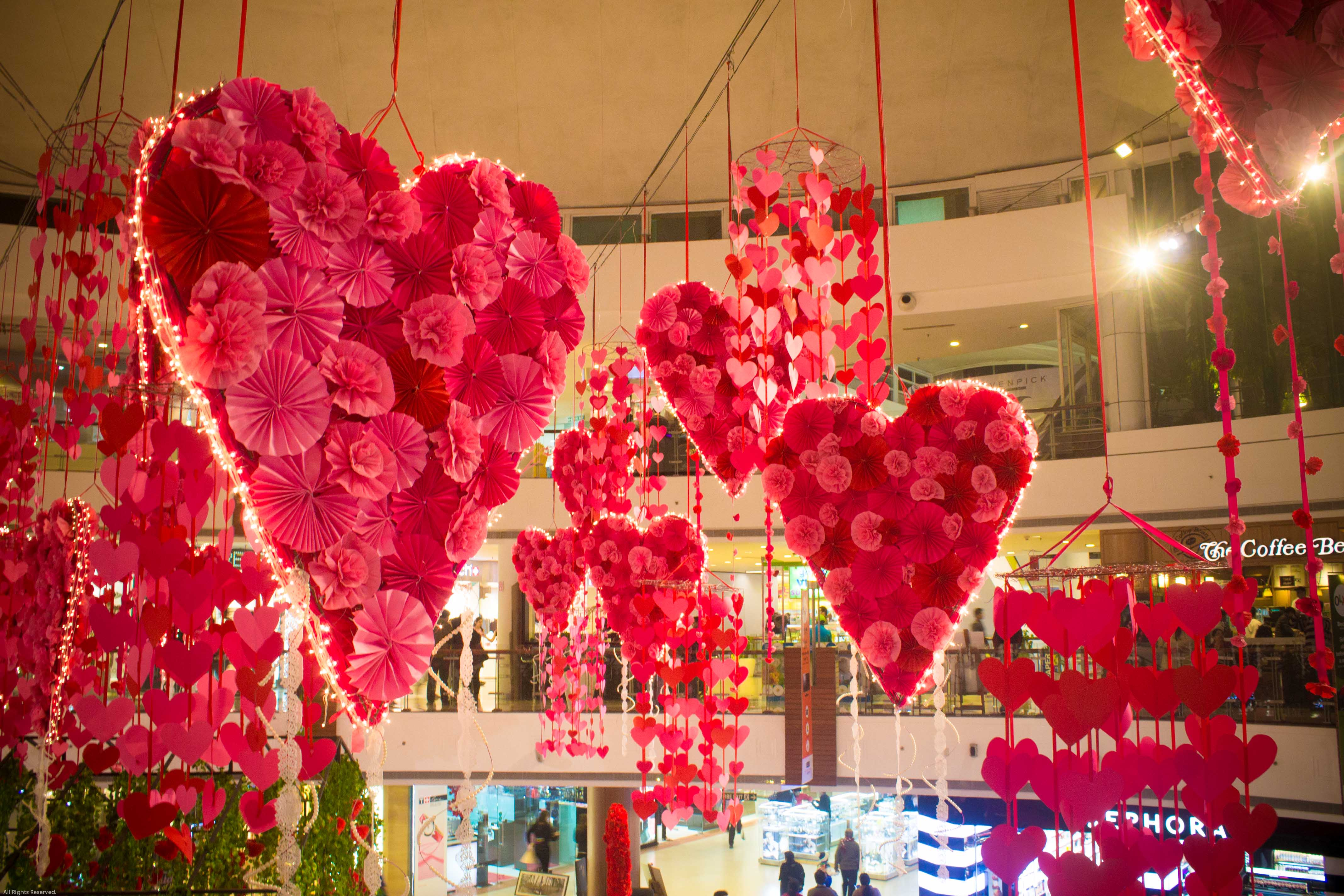 Decoration St Valentin Pour Restaurant Valentines Day DÉcor At Select Citywalk Eventalyare