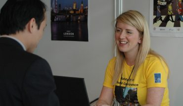 Event Manager at information help desk