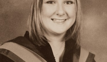 Becki Cross Events Northern Ltd Degree Graduation Photo Sepia Effect