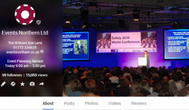 Events Northern Ltd G+Page