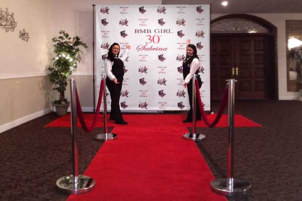 Red Carpet Runway Step Repeat Event Entertainment