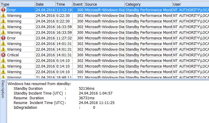 Windows boot performance diagnostics Part 1 Event Log Explorer blog