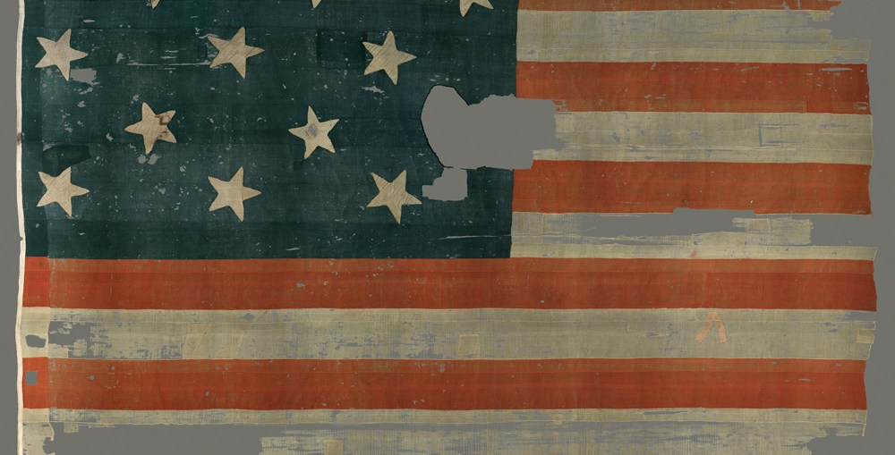 The Flag that Inspired the Star Spangled Banner