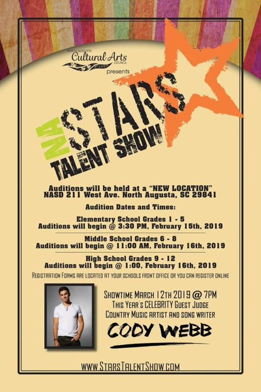 North Augusta Stars Talent Show Auditions