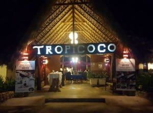 Music event at the TROPICOCO in Cabarete weekly