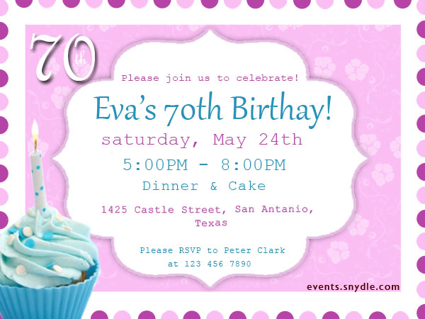 20 Top Birthday Invitations To Invite Your Guests - Festival Around