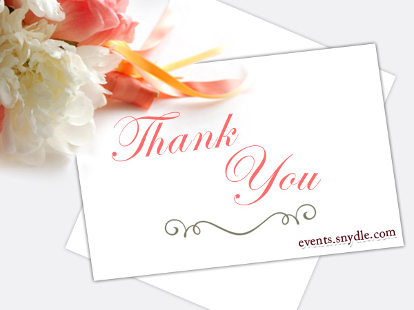 Thank you cards, Thank you photo cards - Festival Around the World