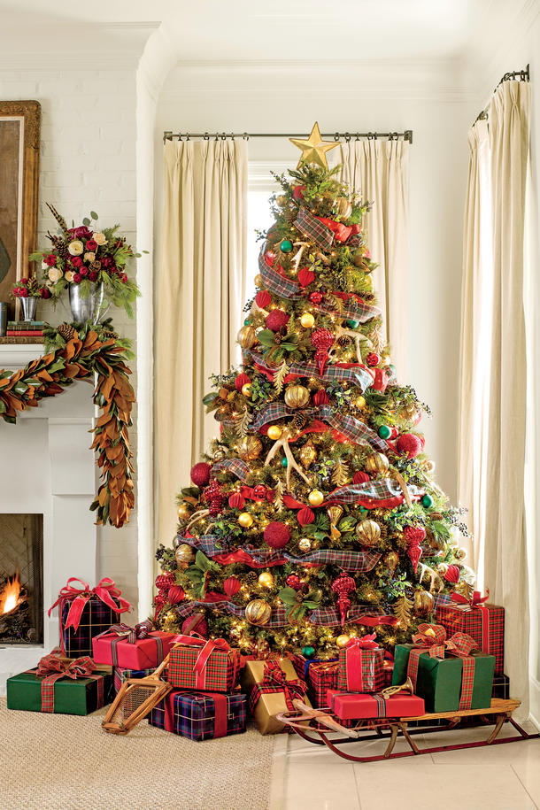 Beautiful Country Christmas Decorating Ideas