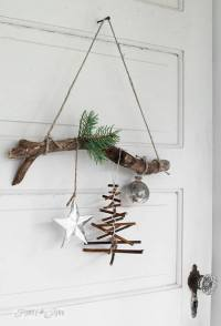Mesmerizing Rustic Christmas Decoration Ideas - Festival ...