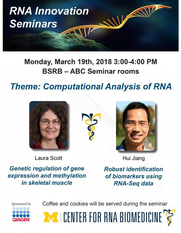 RNA Innovation Seminar Series Theme \ - seminar flyer