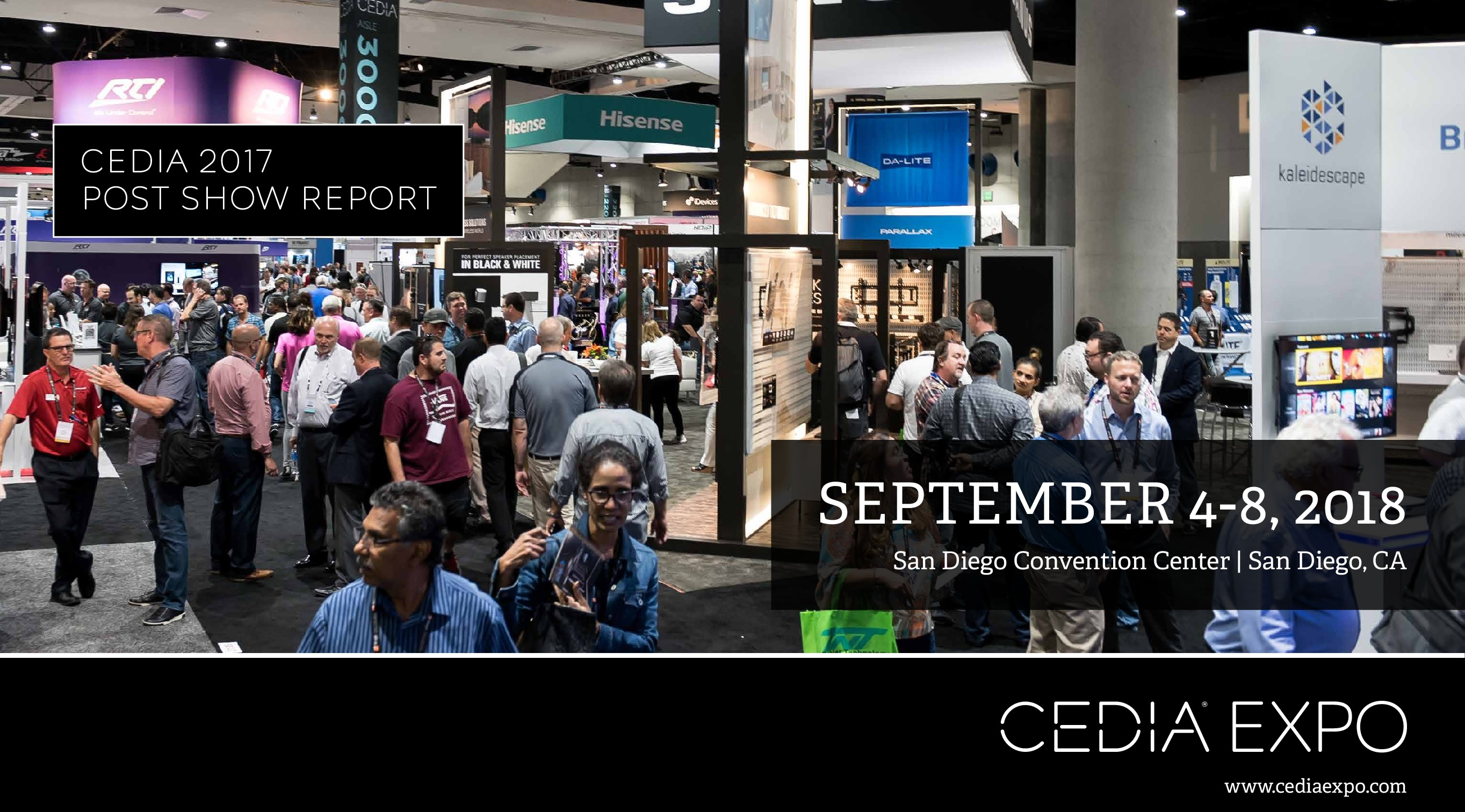Cedia Exhibitor List Events Cedia 2018 Custom Electronic Design Installation