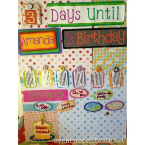 Stylized Her Children You Because It Is A Reusable Birthday Board Events To Things To Do On Your Birthday As A Teenager Things To Do On Your Birthday She Made This Birthday Board I Want To Shareit Nyc