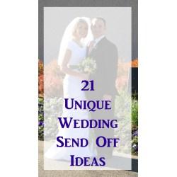 Small Crop Of Wedding Send Off Ideas