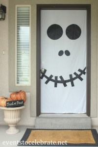 Halloween Door & Window Decorations