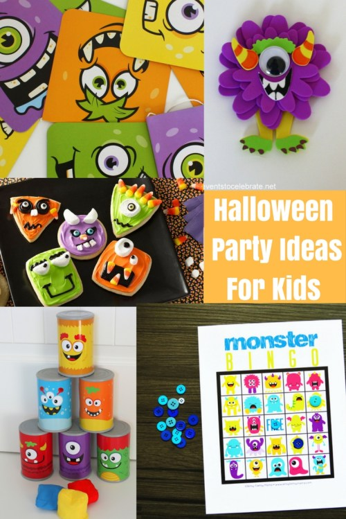 Medium Of Halloween Party Ideas For Kids