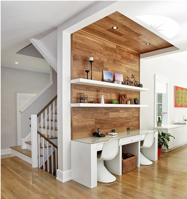 20+ Trendy Minimal Home Office Design Ideas EverCoolHomes - concrete wall design example