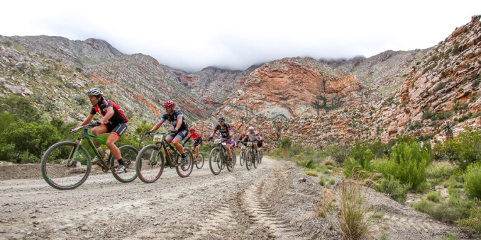 There are sunny but mild weather conditions predicted for Saturday's Ladismith Cheese 7Weekspoort MTB Challenge, with a light breeze which is likely to swirl through the Seweweekspoort. Photo by Oakpics.com.