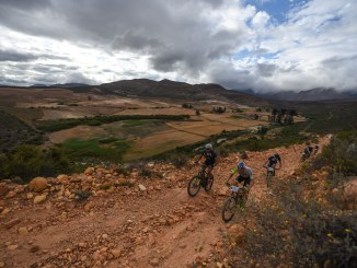 The rugged and rocky route makes the Momentum Health Attakwas Extreme, presented by Biogen, one of the most challenging events on the South African mountain biking calendar. Photo by Zoon Cronje.