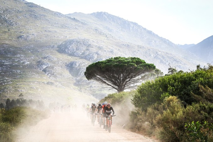 The winding gravel roads of the Overberg provided easy riding for much of the route. Photo by Oakpics.com.