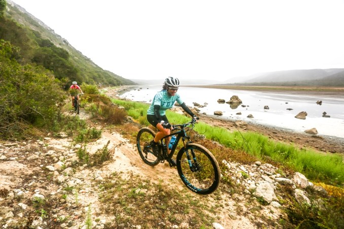 The De Hoop Vlei MTB Experience takes in three days of spectacular mountain biking in and around the De Hoop Nature Reserve. Photo by Oakpics.com.