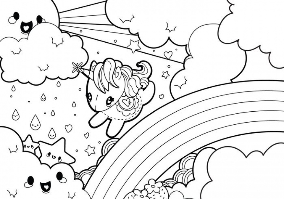 Get This Unicorn Coloring Pages Free Printable 51582 ! - how to get pages for free