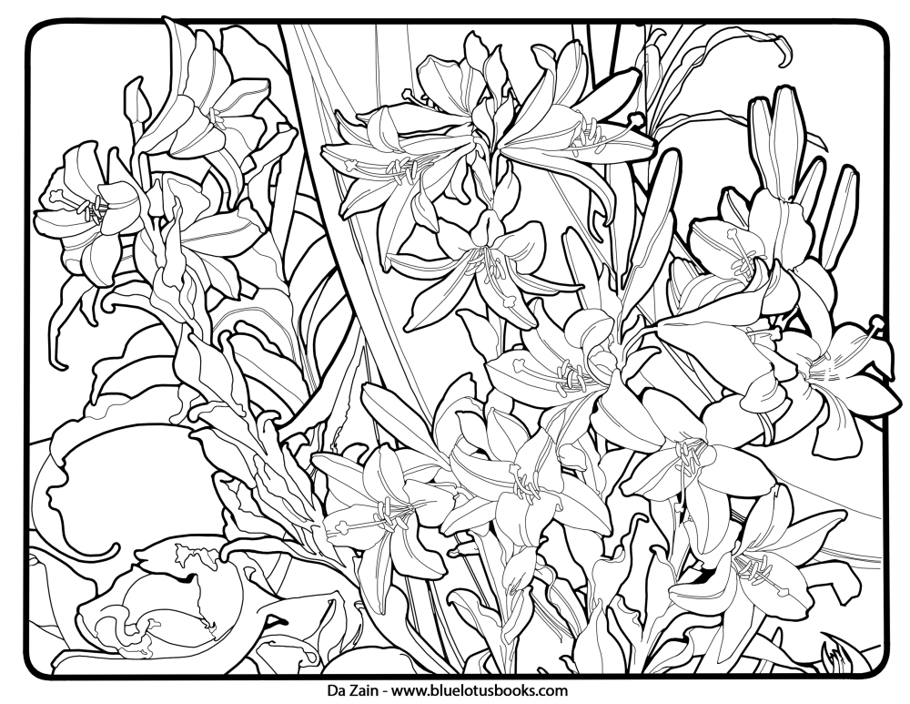 Get This Art Deco Patterns Coloring Pages Free Printable for Adults - how to get pages for free