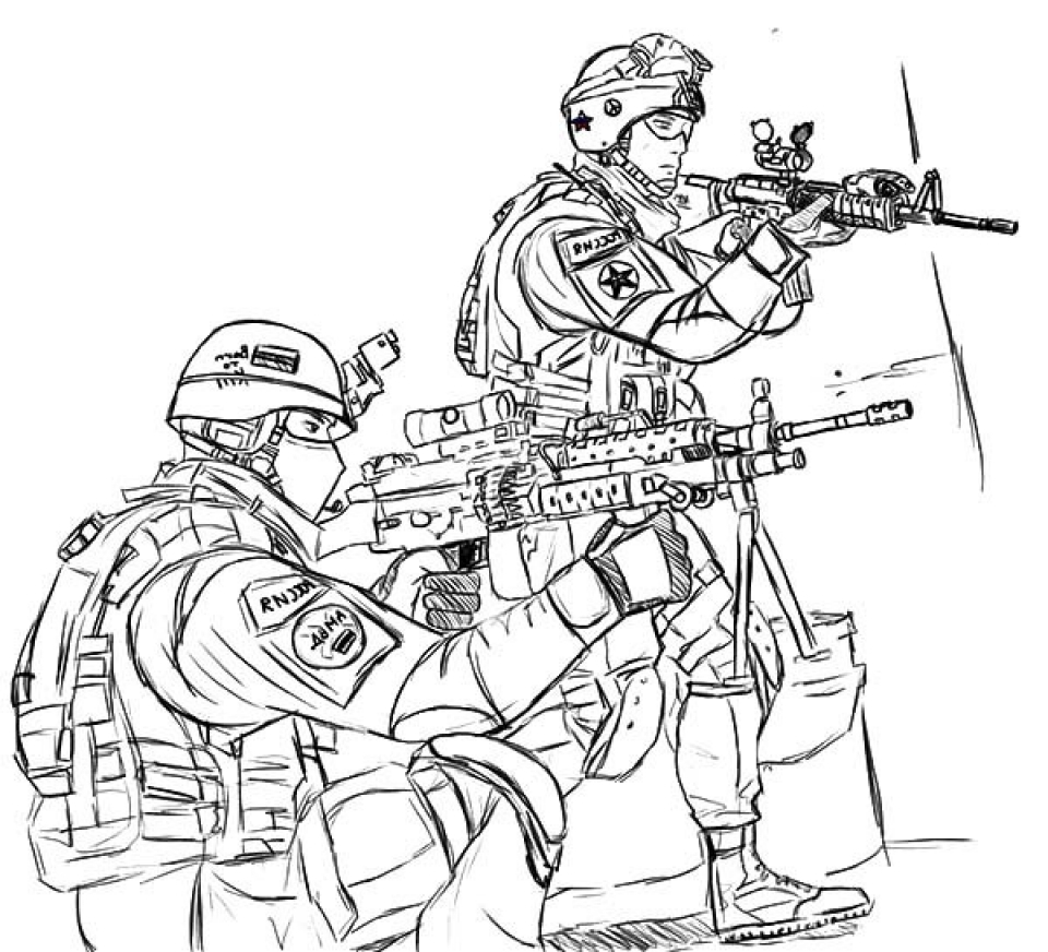 Army Coloring Pages To Print - Eskayalitim