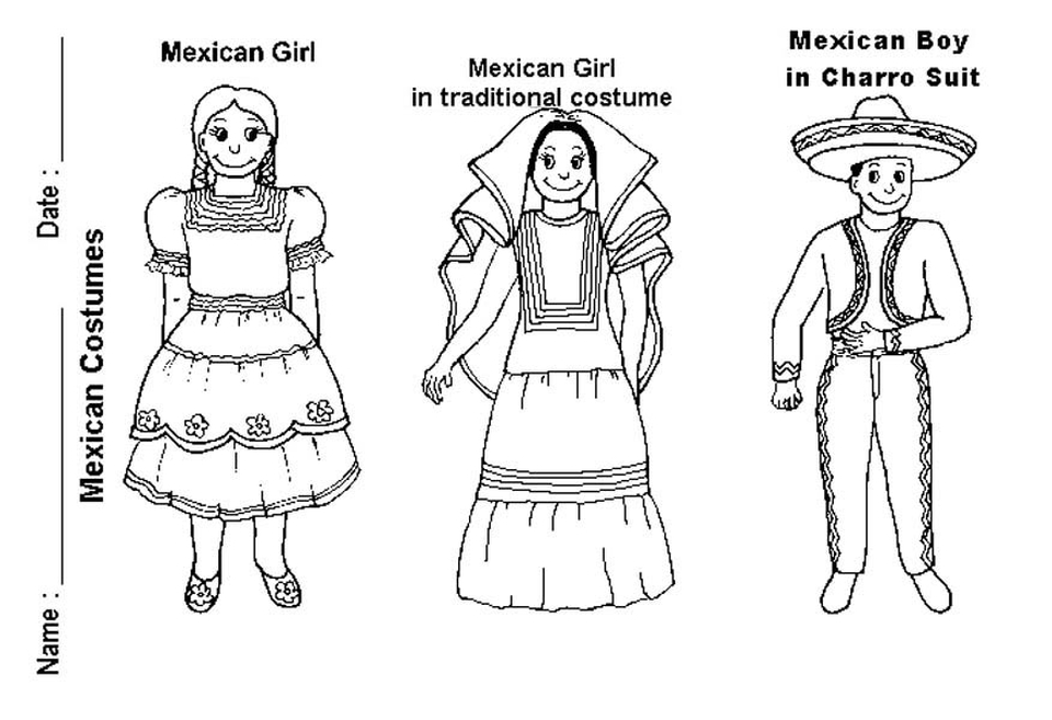 Mexican Independence Day Coloring Pages - Democraciaejustica