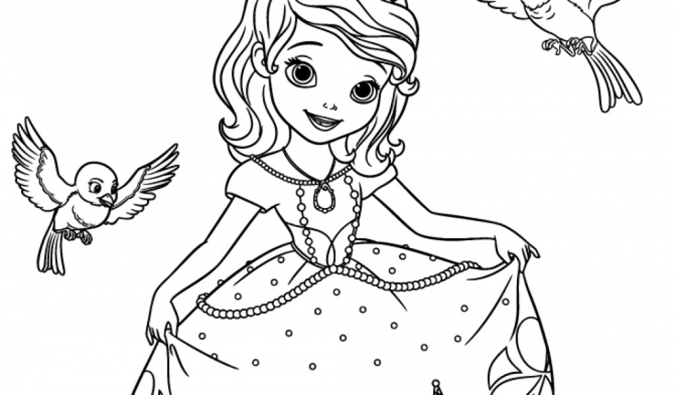 Get This Sofia the First Coloring Pages Free Printable 98962 ! - how to get pages for free