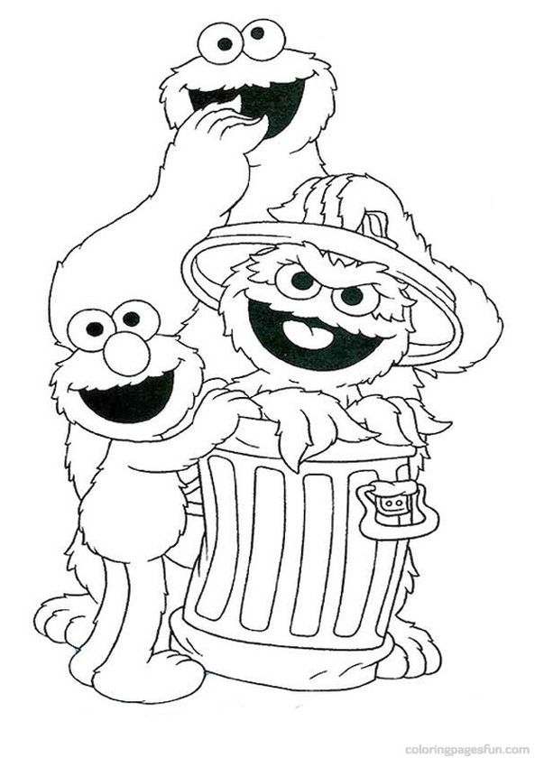 Get This Sesame Street Coloring Pages Free Printable - 67290 ! - how to get pages for free