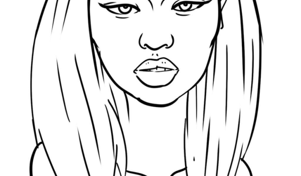 Nicki Minaj Coloring Pages - Eskayalitim