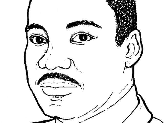 Coloring Pages For Preschoolers SaveEnlarge Martin Luther King Worksheets Free Printables